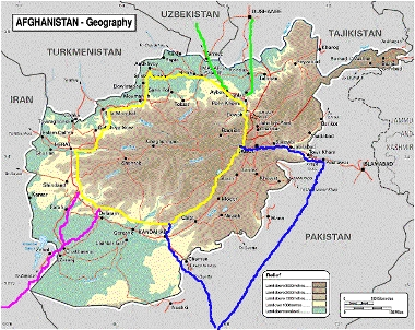 Now Between Pakistan And Afghanistan Lays Three Mountain P The Khyber The Doran And The Broghol These Are All On The Route To Kabul And Compete