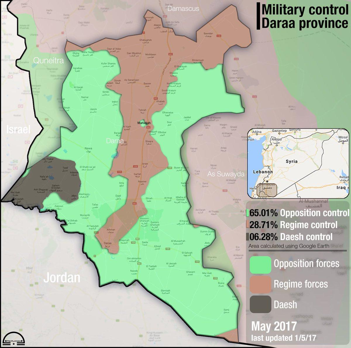 MoA Syria Summary A New Russian Proposal And A Battle For The - Map of area that us forces control in syria