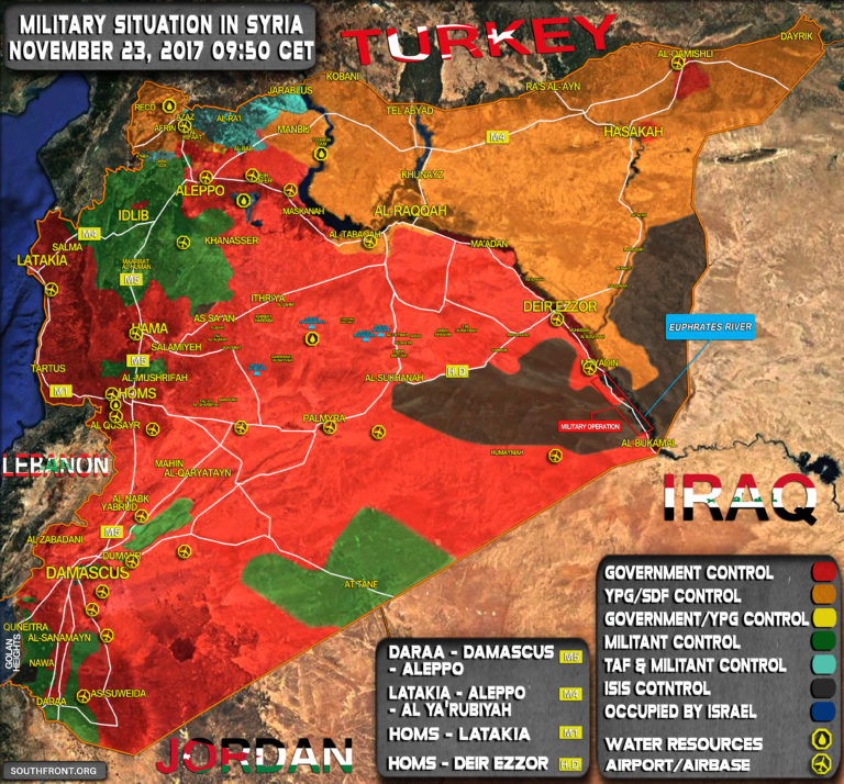Syria This US Occupation Or Presence Is Unsustainable - Map of us allies and enemies