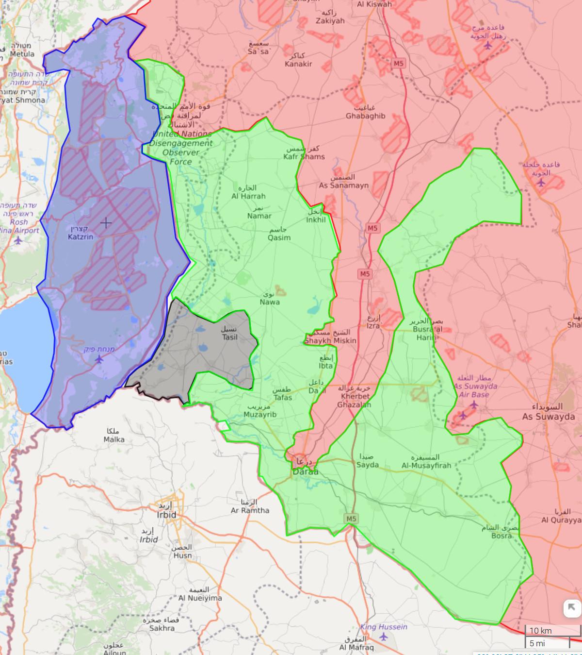 MoA - Syria Sitrep - Army Liberates Daraa City