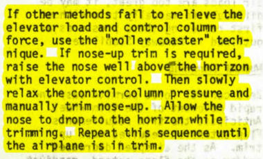 26f9842e Excerpt from an old 737-200 manual - via The Air Current - bigger