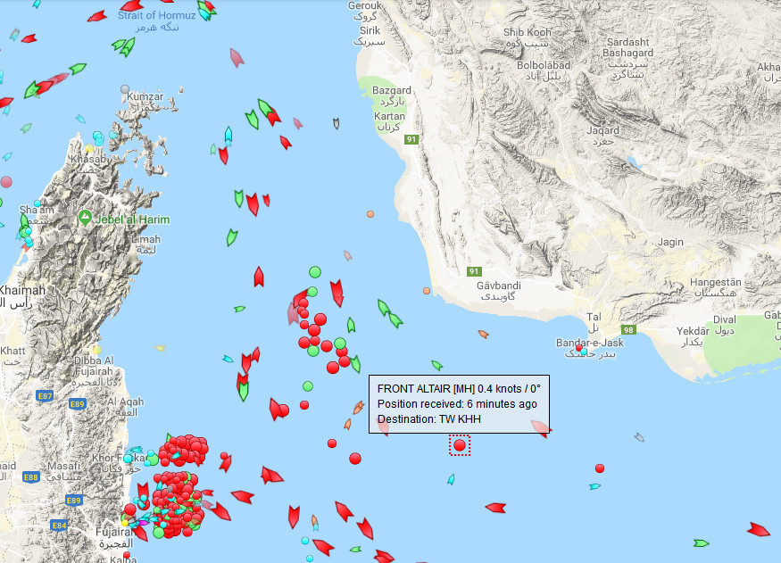 MoA - Today's Attacks On Ships In The Gulf Of Oman Are Not