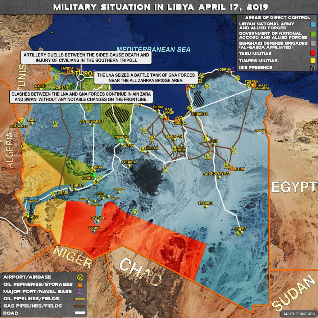 MoA - Libya - U S  Reveals Support For Hafter's Side