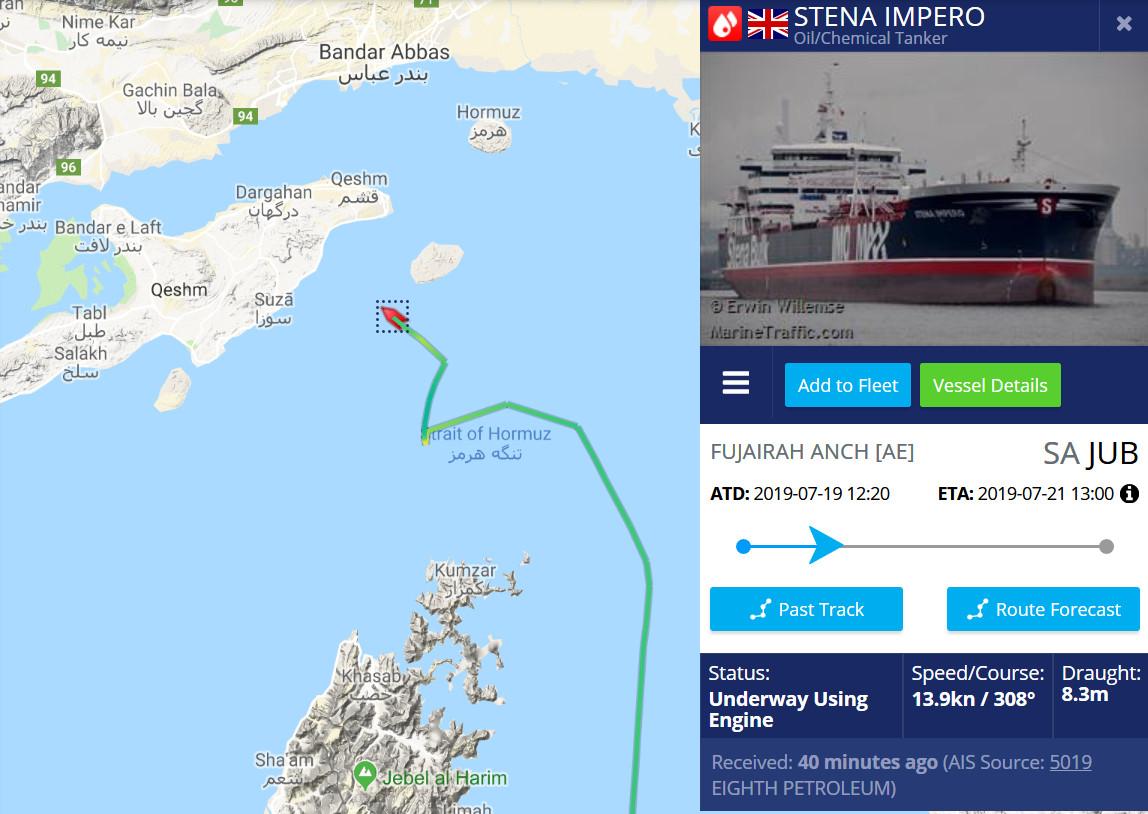 MoA - Britain Pirates Iranian Ship 'Grace 1' - Iran Responds