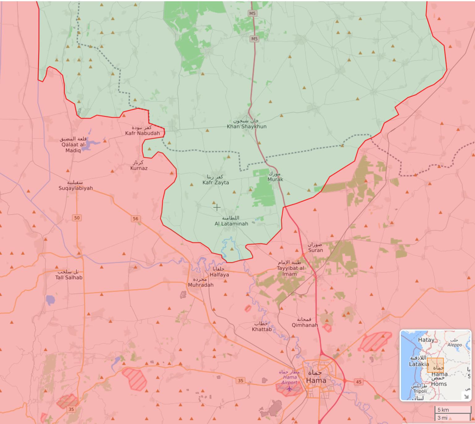 North Hama Front - May 15 2019