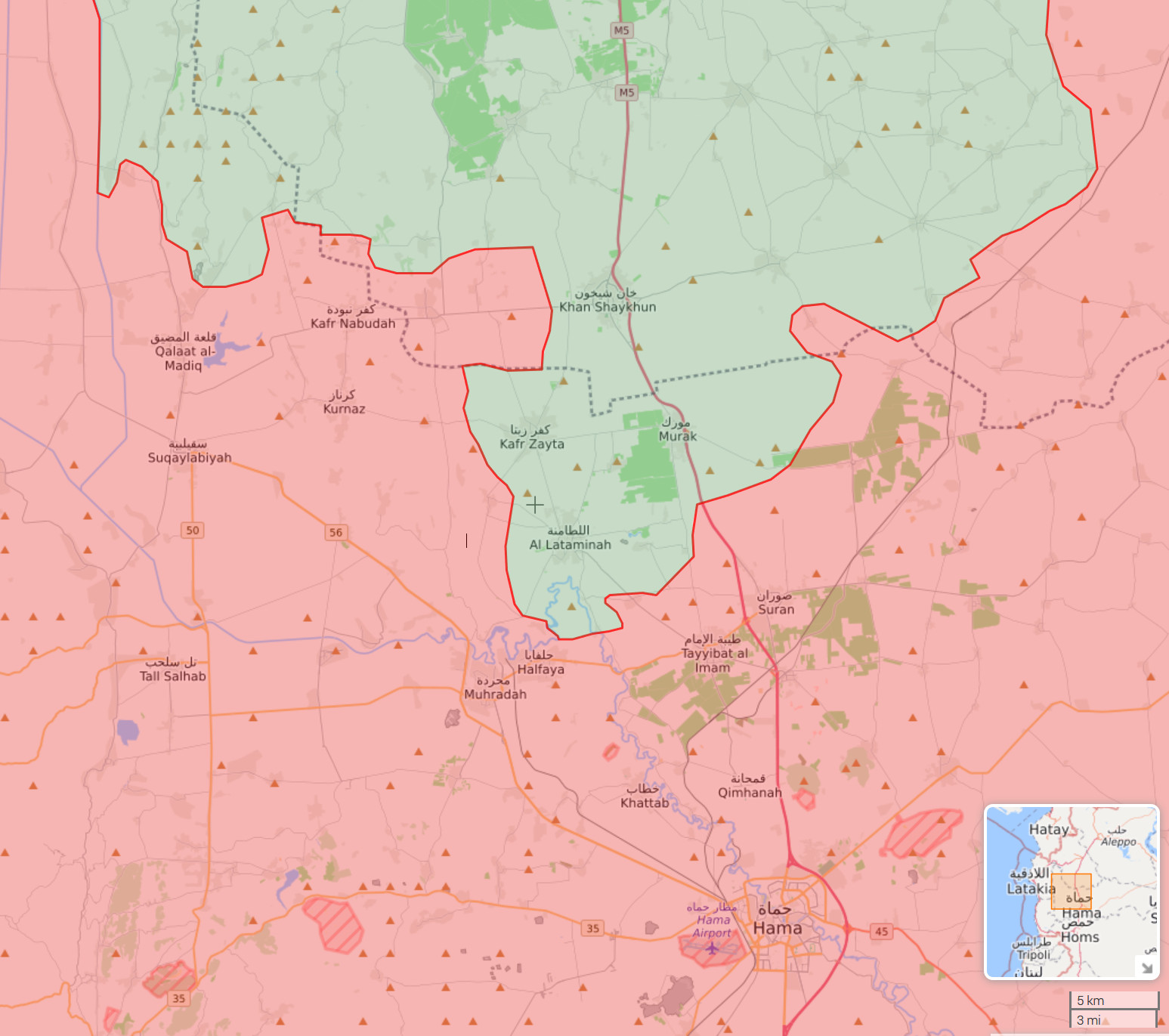 North Hama Front - August 15 2019