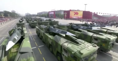 China's Anniversary Parade Reveals New Weapons That Will Influence US Strategies